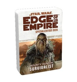 Fantasy Flight Games Star Wars RPG: Edge of the Empire Survivalist Specialization Deck