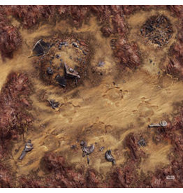 Fantasy Flight Games Star Wars: Legion - Desert Junkyard Gamemat