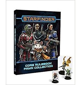 Paizo Starfinder Player Core Rulebook Pawn Collection