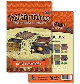 Tabletop Tokens: Rooftops set