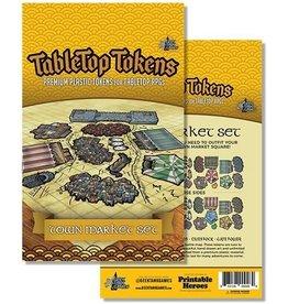 Tabletop Tokens: Town Market set