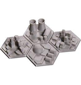 Broken Token Terraforming Mars 3D Colony Hex Tiles