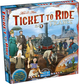 Days of Wonder Ticket To Ride: Map Collection Volume 6 France and Old West
