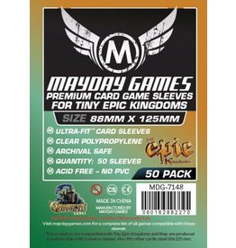 "Mayday Games Tiny Epic Kingdoms"" 88 x 125mm Premium sleeves"