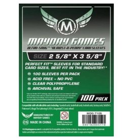 Mayday Games Sleeves: Ultra-Snug Card Sleeves (100)