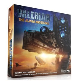 Valerian: The Alpha Missions Board Game