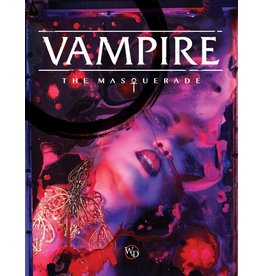 Vampire The Masquerade: 5th Edition Core Rulebook Hardcover