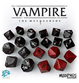 Modiphius Vampire the Masquerade: Custom Dice Set