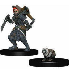 Wizkids Wardlings Minis Girl Rogue & Badger