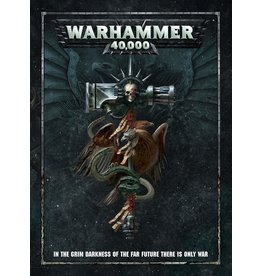 Games Workshop Warhammer 40,000 8ed Rulebook 2017