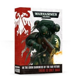 Games Workshop WARHAMMER 40K RULEBOOK 2014 OOP