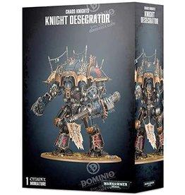 Games Workshop Warhammer 40K: Chaos Knights Knight Desecrator