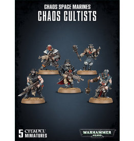 Games Workshop Warhammer 40K: Chaos Space Marines Chaos Cultists