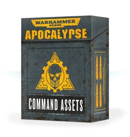 Games Workshop WH40K APOCALYPSE COMMAND ASSETS