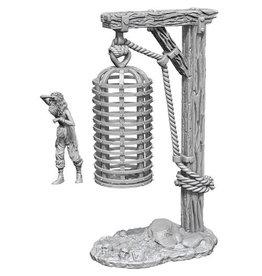 Wizkids WizKids Deep Cuts Unpainted Miniatures: W10 Hanging Cage