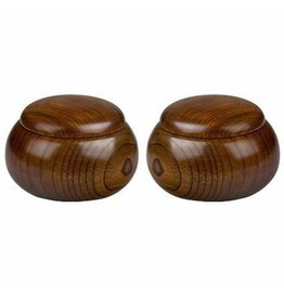 Wooden GO Bowls (pair)
