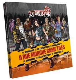 CMON Zombicide: Rue Morgue Game Tiles