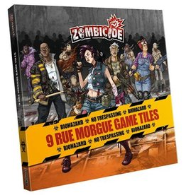 Cool Mini Or Not Zombicide: Rue Morgue Game Tiles