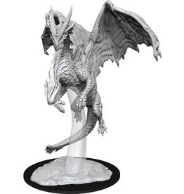 Wizkids Unpainted Miniatures: W11 Young Red Dragon