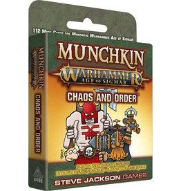 Steve Jackson Games Munchkin: Munchkin Warhammer Age of Sigmar - Chaos and Order Expansion