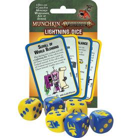 Steve Jackson Games Munchkin: Munchkin Warhammer Age of Sigmar - Lightning Dice