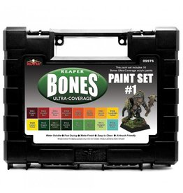Reaper Miniatures MSP Bones Ultra-Coverage Paints Set #1