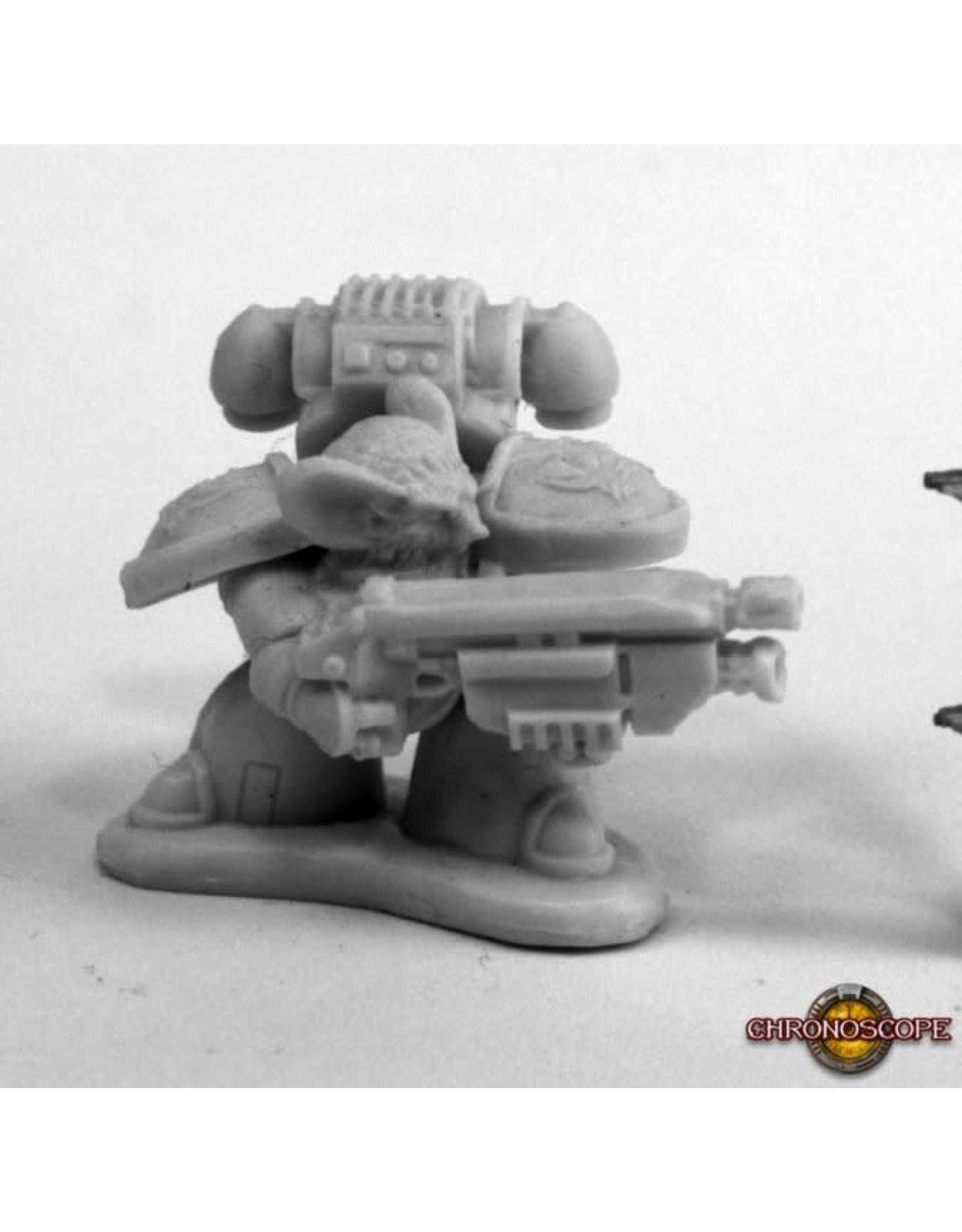 Reaper Miniatures Bones Space Mousling Looking Left