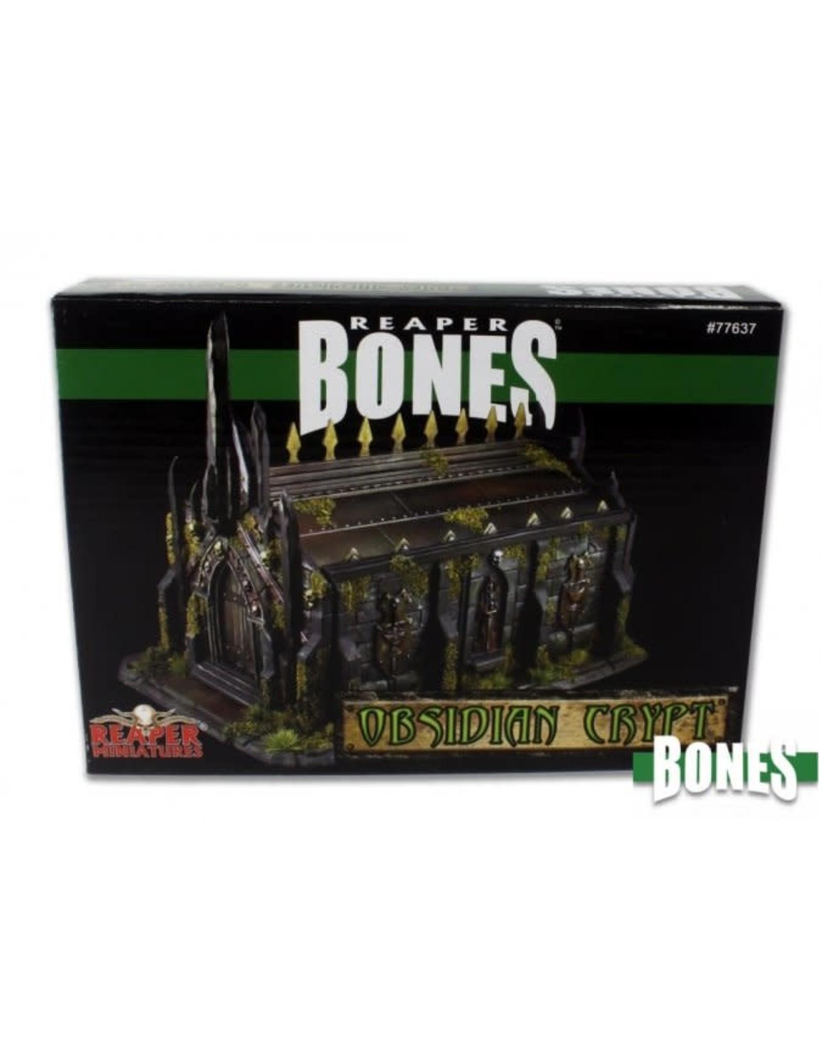 Reaper Miniatures Bones Obsidian Crypt (Boxed Set)