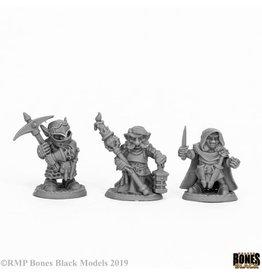 Reaper Miniatures DEEP GNOME WARRIORS (3)