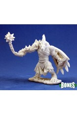 Reaper Miniatures Bones: Gnoll Warrior (Morning Star)