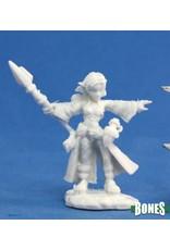 Reaper Miniatures Bones: Cassie, Gnome Wizard