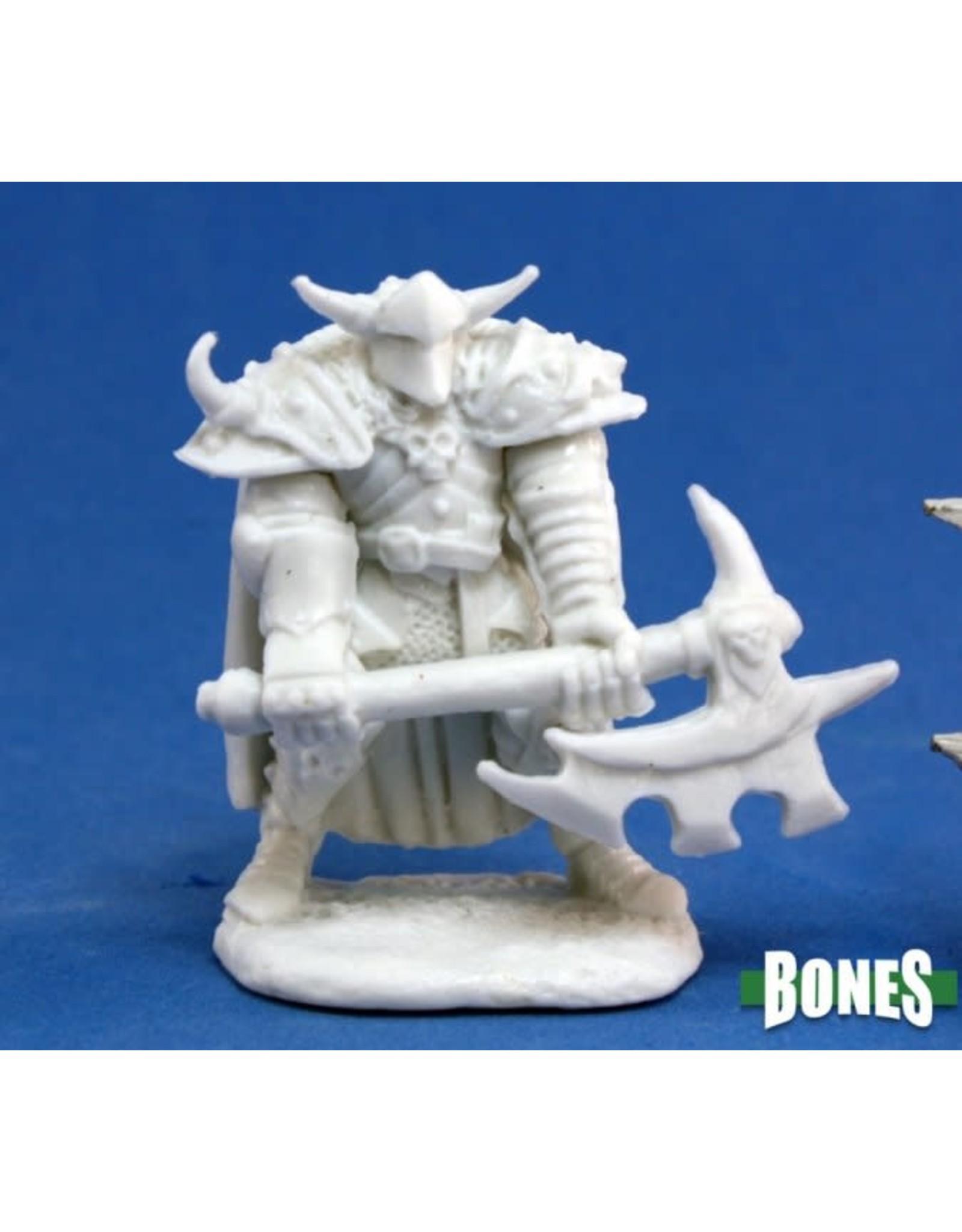 Reaper Miniatures Bones: Norgol, Irongrave Knight
