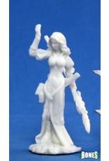 Reaper Miniatures Bones: Hyrekia, Female Elf Wizard