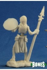 Reaper Miniatures Bones: Skeleton Guardian Spearmen [3]