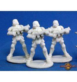 Reaper Miniatures Bones: Nova Corp: Soldier (3)