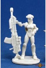 Reaper Miniatures Bones: IMEF: Sarah Blitzer