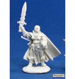 Reaper Miniatures Bones: Seelah, Iconic Paladin