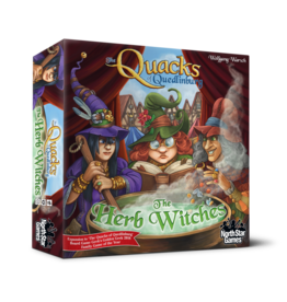 North Star Games Quacks of Quedlinburg: The Herb Witches