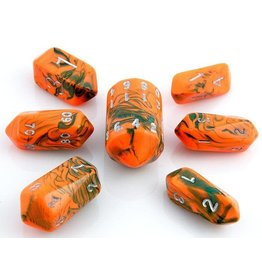 Crystal Toxic Dice Orange Green (7)