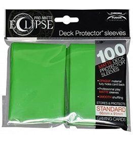 Ultra Pro DP: Eclipse Matte Sleeves Matte Light Green (100)