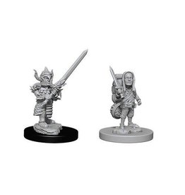 Wizkids D&D Minis Male Halfling Fighter
