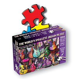 TDC Puzzles World's Smallest Jigsaw Puzzle: Six String Fling