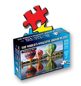TDC Puzzles World's Smallest Jigsaw Puzzle: Taking on Airs