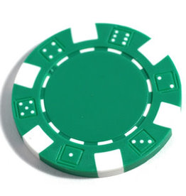 Wood Expressions Clay Poker Chips: Green (50)
