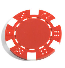 Wood Expressions Clay Poker Chips: Red (50)