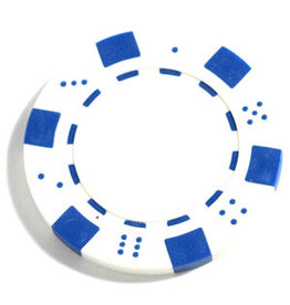 Wood Expressions Clay Poker Chips: White (50)