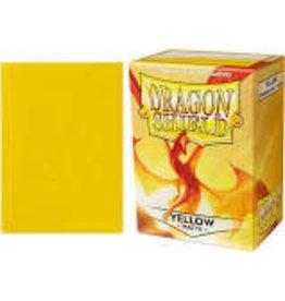 Arcane Tinmen DS: Standard: 100 Count: Matte Yellow