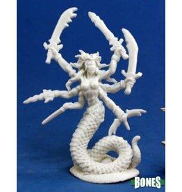 Reaper Miniatures Bones: Vandorendra, Snake Demon