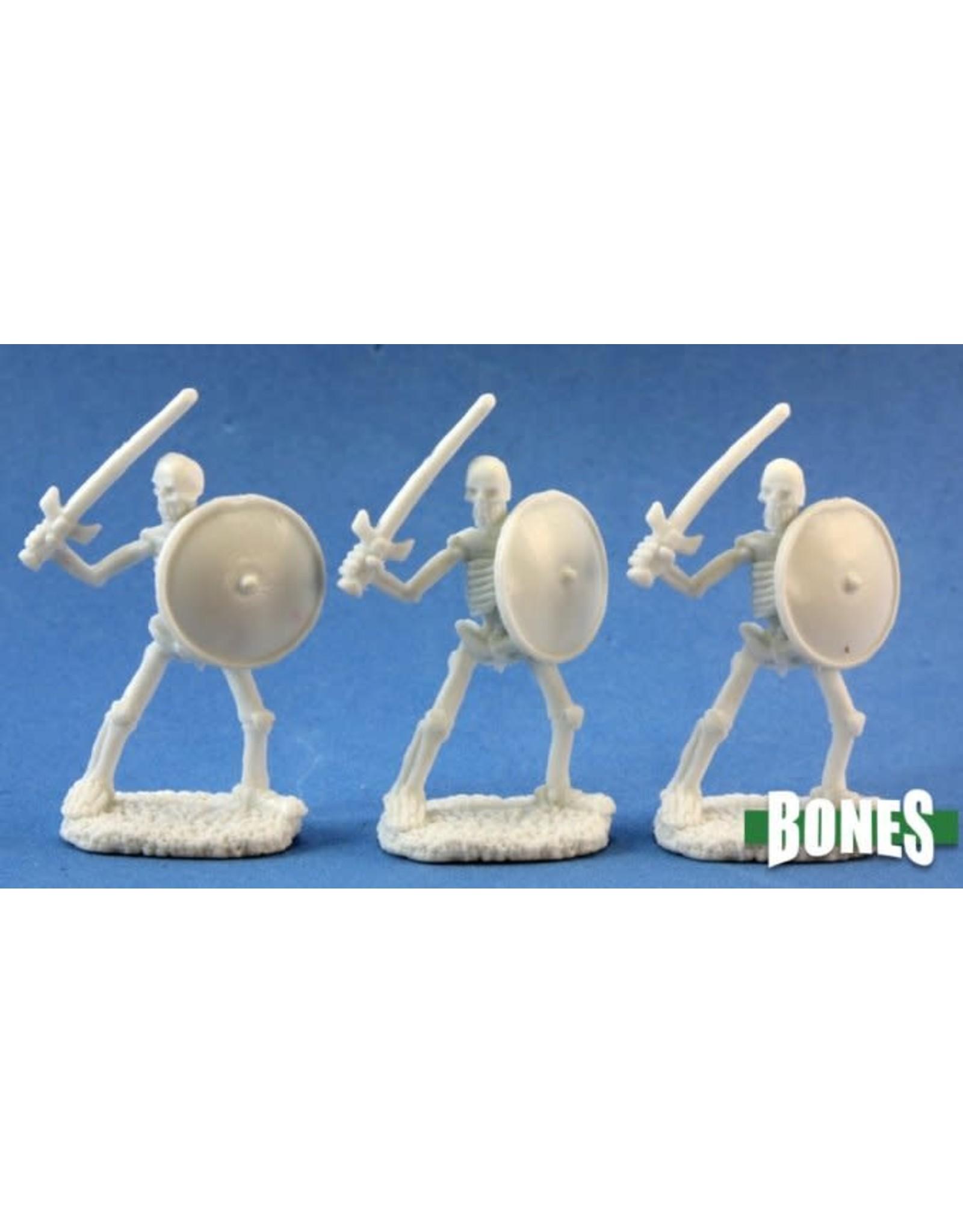 Reaper Miniatures Bones: Skeletal Swordsman (3)