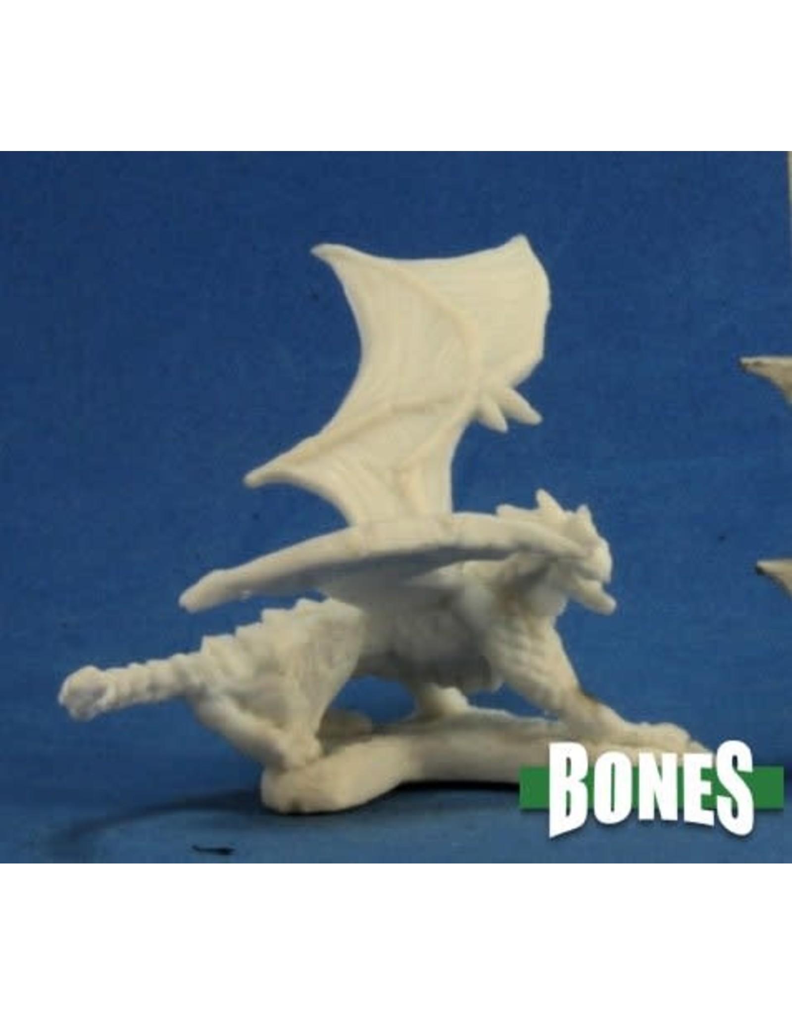 Reaper Miniatures Bones: Dragon Hatchling Blue